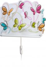 Dalber 62148 Butterfly gyerek fali lámpa