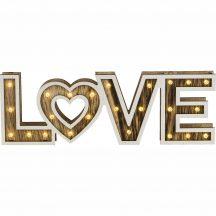Globo 29976 Love dekorációs lámpa
