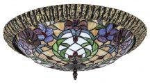 Rábalux 8087 Mirella Tiffany mennyezeti lámpa