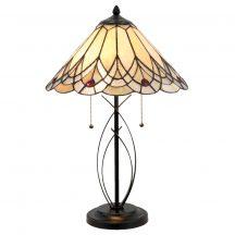 Amy TIF-0801 Tiffany asztali lámpa