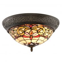 Coco TIF-29031 Tiffany mennyezeti lámpa