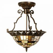 Cruse TIF-3003 Tiffany mennyezeti lámpa