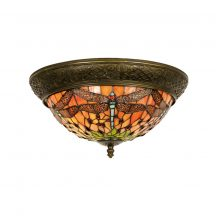 David TIF-35033 Tiffany mennyezeti lámpa