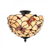 Lara TIF-66031 Tiffany mennyezeti lámpa