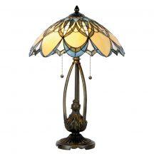 Natan TIF-9101 Tiffany asztali lámpa
