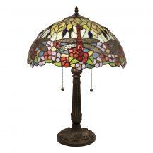 Patrick TIF-9801 Tiffany asztali lámpa
